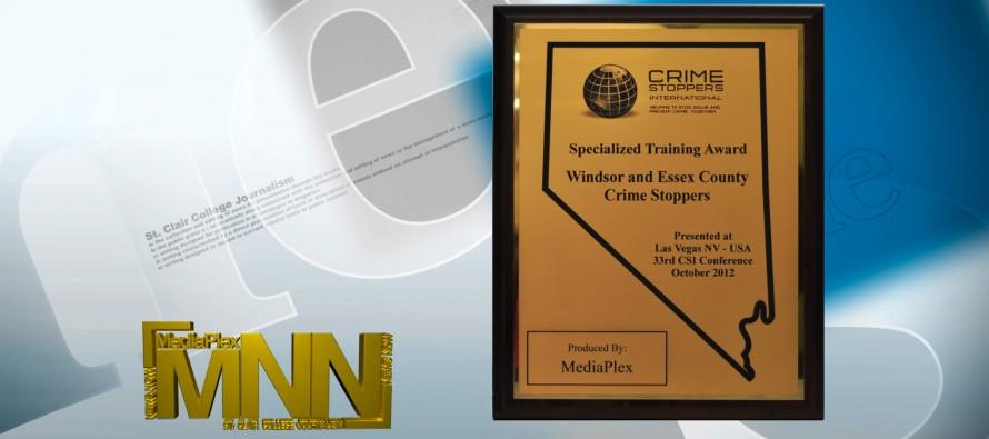 MediaPlex Crime Stoppers Award