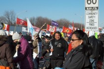 Idle No More Protests in Windsor