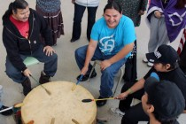 Idle No More to the beat of the drum