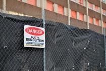 Demolition of Grace Hospital begins