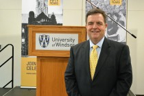 University of Windsor honours class of '63 during 50th anniversary convocation