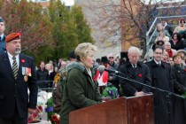 Windsor falls silent for Remembrance Day