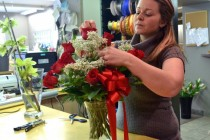 Romance and roses come together on Valentine's Day