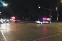 Biker struck in Windsor