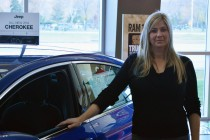 Increased sales at the Provincial Chrysler dealership