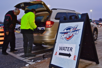 Water donations pour in for Flint