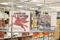 Automotive lovers find treasure trove at local library