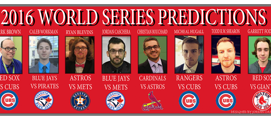 2016 World Series predictions