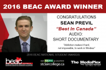 "BEAC Award Winner – ""Best in Canada"" Audio: Short Documentary"