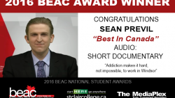 BEAC Award Winner - Sean Previl