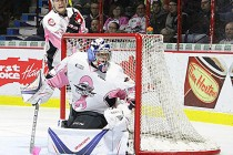 Spitfires think pink and shoot down Greyhounds