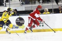 Wolverines upset Terriers, split series