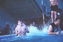 St.Clair students take a dive for Polar Plunge