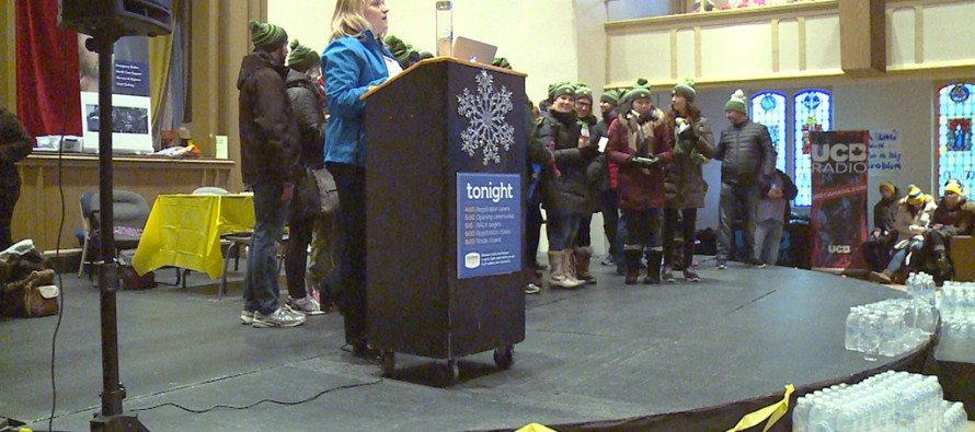 Windsorites brave the cold for a cause