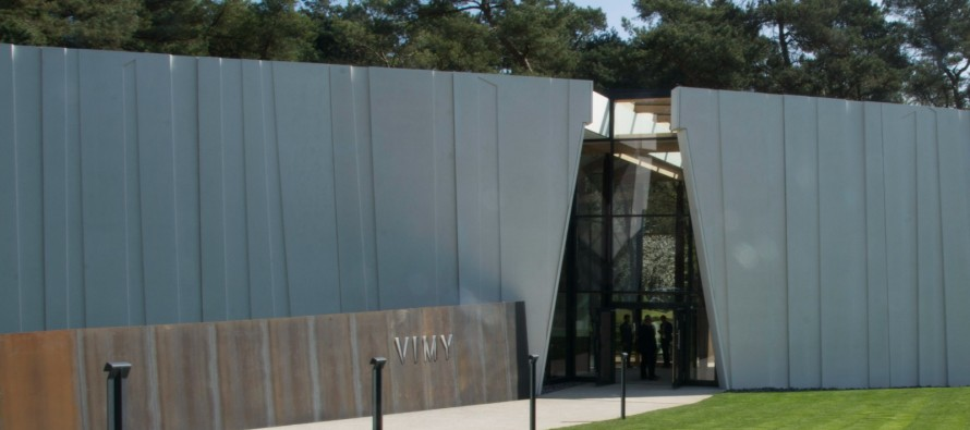 New education centre opens ahead of 100th anniversary – The Battle of Vimy Ridge