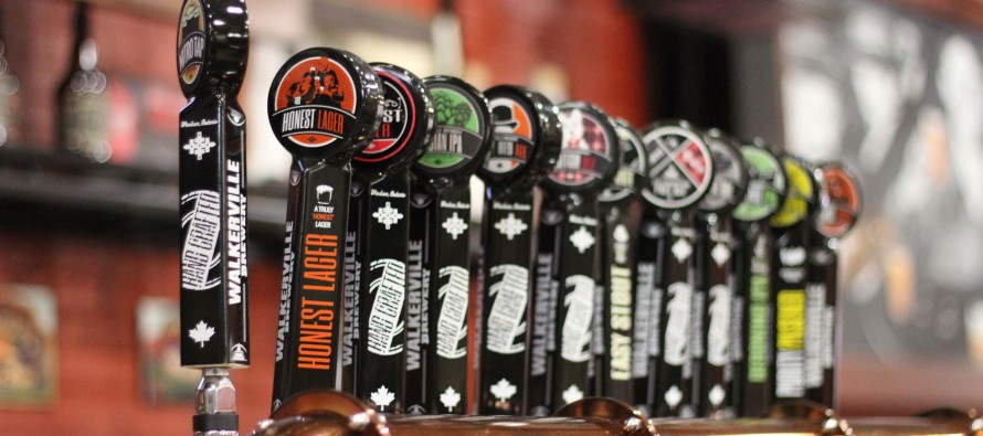 Tapping into the growing popularity of craft beer
