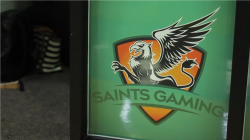 Saints Gaming is one of the first varsity esports teams in Canada. Photo by Sanjay Maru.