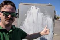 No place for hate: local men remove hateful graffiti