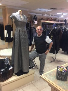 Franco Angileri poses inside his store Franco Angileri Designs Ltd on Erie st. (Photo by Christina Chibani).