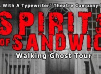 (Photo courtesy of the Spirits of Sandwich Walking Ghost Tour Facebook event page)