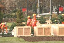 Windsor crews building massive holiday light display at Jackson Park