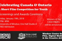 Young filmmakers compete at the Canada & Ontario short film competition