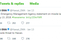 Hawaii Missile alert caused by human error