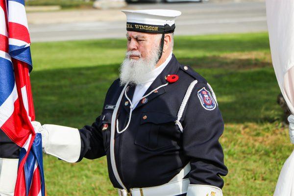 Royal Canadian Legion Riverside Branch #255 Remembrance Day - Windsor, Ontario. Nov. 4, 2017
