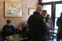 Police hope 'Coffee with a cop' is a success with public