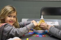 Family game night in Tecumseh brings out families
